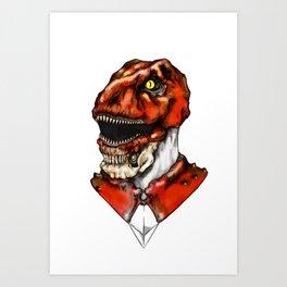 Red Ranger 2015 Redesign Art Print