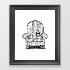 Big Chair Framed Art Print