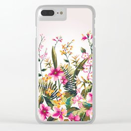 Flowers -a100 Clear iPhone Case