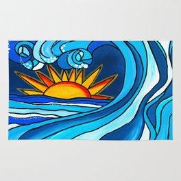 Sunny Waves Rug