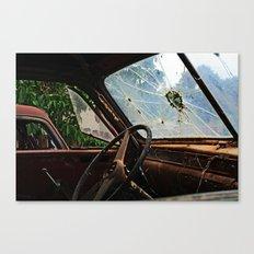 Junkyard Truck. Canvas Print
