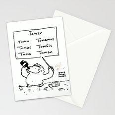 Spanish Verb Conjugation Ape Stationery Cards