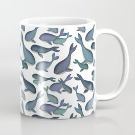 Cute Little Whale Print Coffee Mug