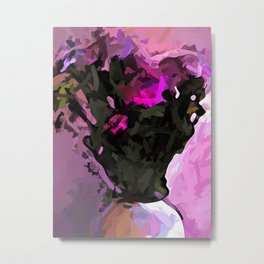 Flowers of Pink X1 Metal Print