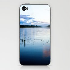 morning on raquette lake iPhone & iPod Skin