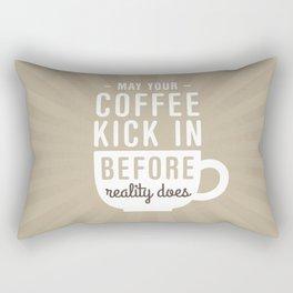 Coffee Reality Rectangular Pillow