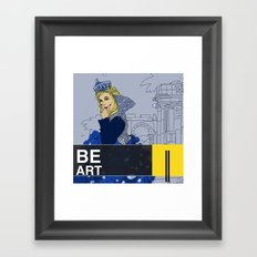 BE  ART Framed Art Print