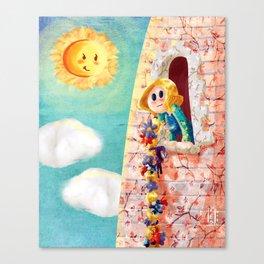 Rapunzel Canvas Print