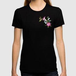 Desert Rose and Hummingbird Patterns T-shirt