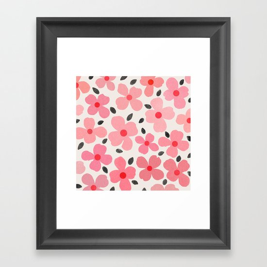 dogwood 8 Framed Art Print