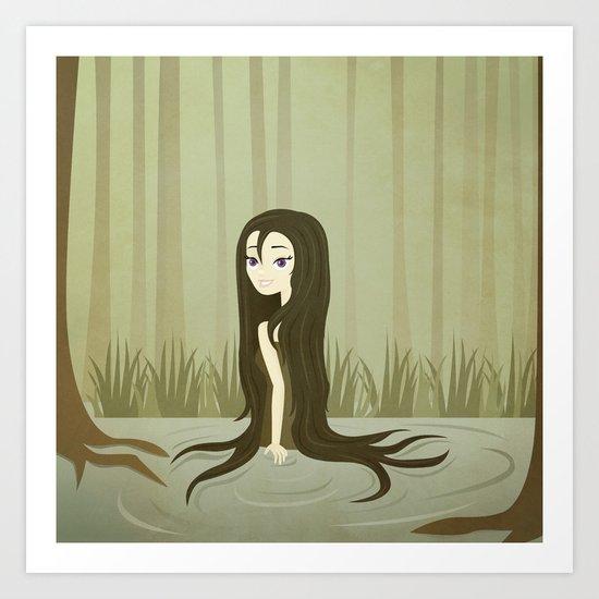 Josephine of the Swamps Art Print
