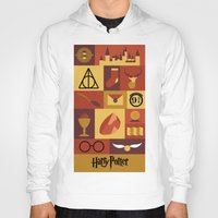 potter Hoodies featuring Potter by Polvo