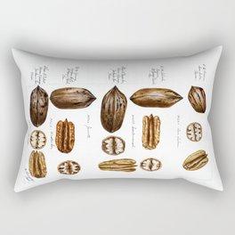 Pecans Rectangular Pillow