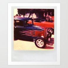 Hot Rod 2 Art Print