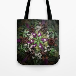 Nature Mandala: November Tote Bag
