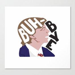 Buh-Bye - Saturday Night Live - David Spade Canvas Print