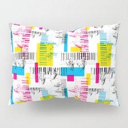A piano pattern Pillow Sham