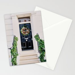 Notting Hill Black Holiday Door Stationery Cards