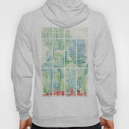 Winter in Glass Houses I Hoody