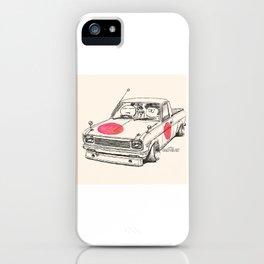 Crazy Car Art 0169 iPhone Case