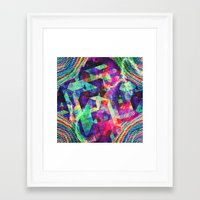 carnival Framed Art Prints featuring Carnival by Truly Juel