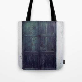 Santorini Door II Tote Bag