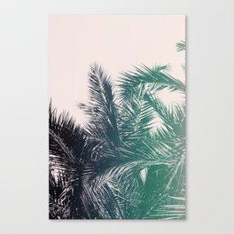 Blue Flare Canvas Print
