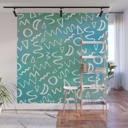 Tidal Waves Wall Mural