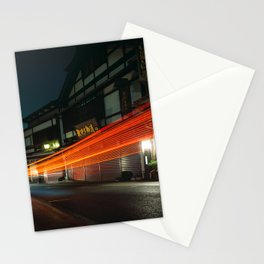 Narita at Night Stationery Cards