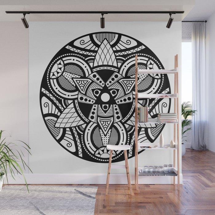 Simple Mandala 4 Wall Mural By Divotomezove Society6
