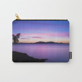 Vibrant Sunset Carry-All Pouch