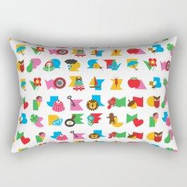 ABCs Gumball Rectangular Pillow