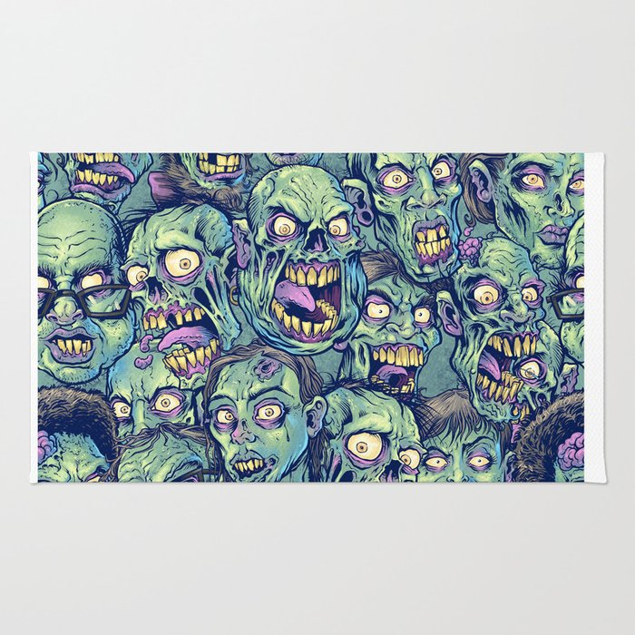 Zombie Repeatable Pattern Rug