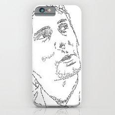 Matthew Bellamy WordsPortrait iPhone 6s Slim Case
