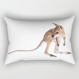 An adorable Australian kangaroo joey Rectangular Pillow