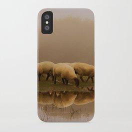 Foggy Sheep iPhone Case