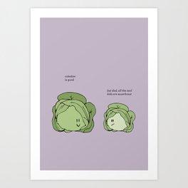 Sauerkraut Recipe Art Print