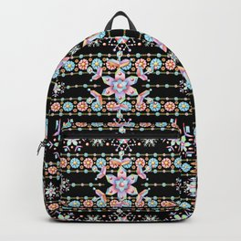 Folkloric Snowflakes Backpack