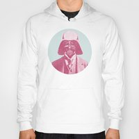 darth vader Hoodies featuring Darth Vader by Les petites illustrations