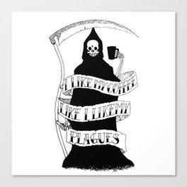 Bubonicaffeine Canvas Print