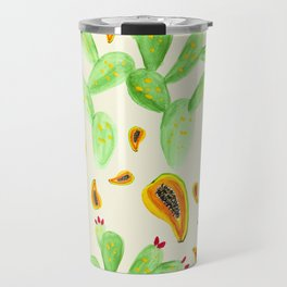 Fruit & Cactus Travel Mug