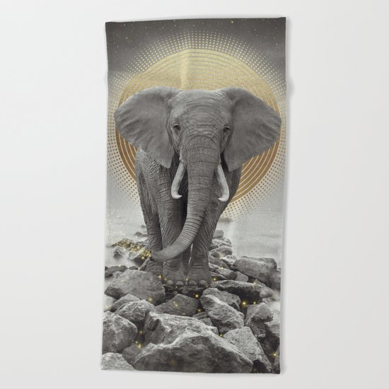 Strength & Courage Beach Towel