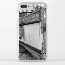 Abandoned Fishing Boats Clear iPhone Case