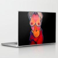 nudes Laptop & iPad Skins featuring Nudes: Venus by Adam James David Anderson