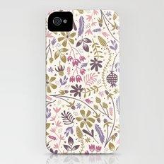 Vintage Blooms iPhone (4, 4s) Slim Case