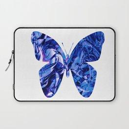 Fluid Butterfly (Blue Version) Laptop Sleeve