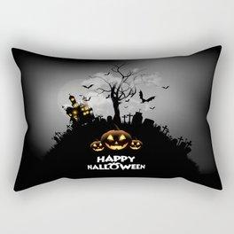 Thriller night Rectangular Pillow