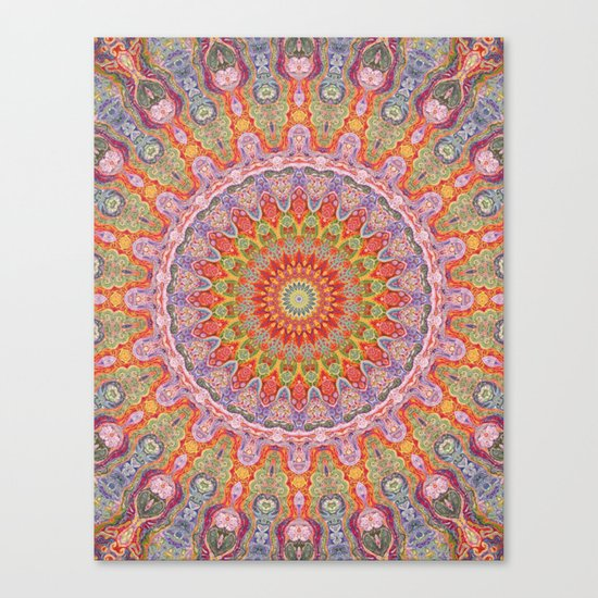 Mind Bending Trip Canvas Print