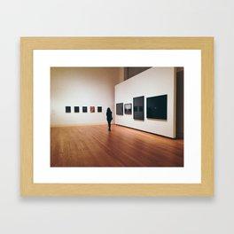 Berlin Exhibition Framed Art Print