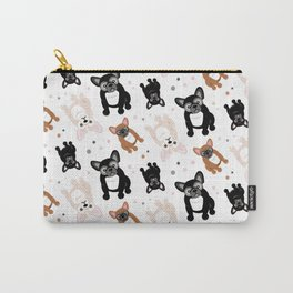 French Bulldogs for Frenchie Lovers Carry-All Pouch